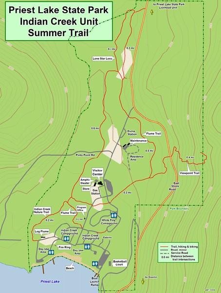Priest Lake State Park -- Indian Creek Unit