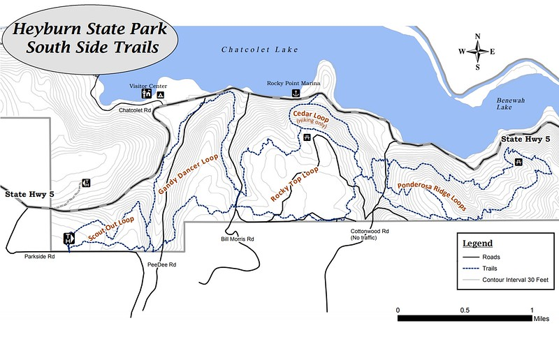Heyburn State Park (South Side Trails)