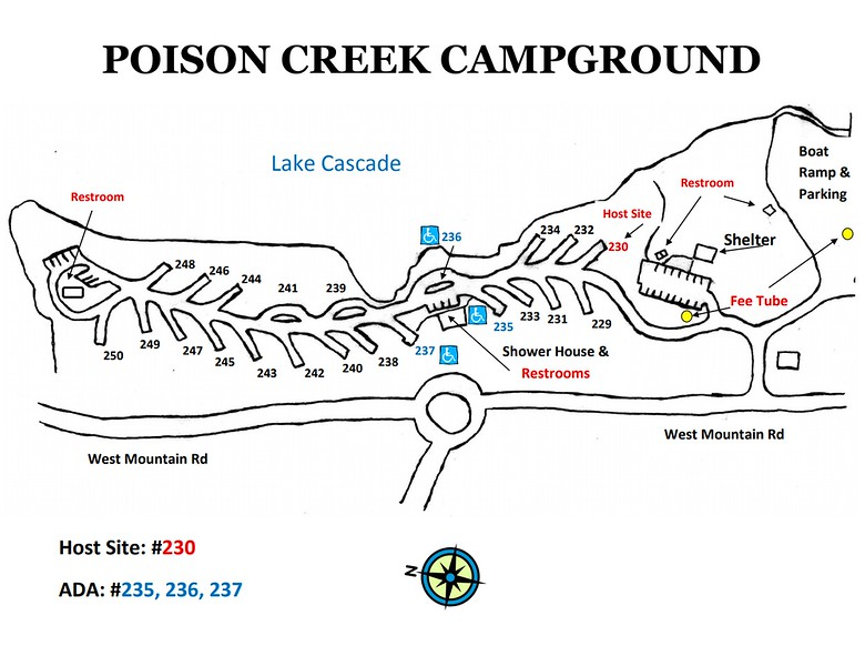 Lake Cascade State Park (Poison Creek Campground)