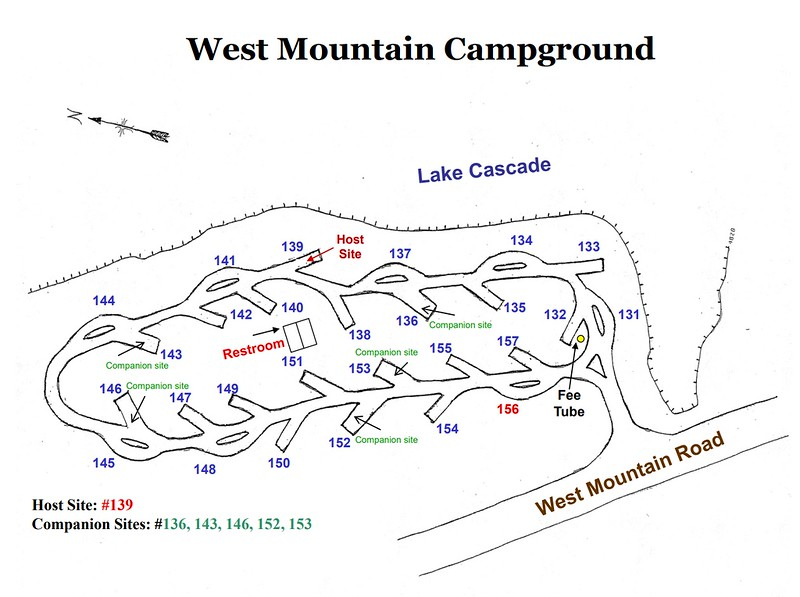 Lake Cascade State Park (West Mountain Campground)