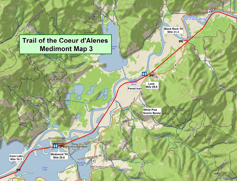 Trail of the Coeur d'Alene's State Park (Section #3)