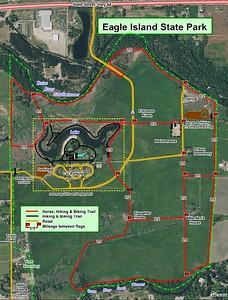 Eagle Island State Park (Trail Map)