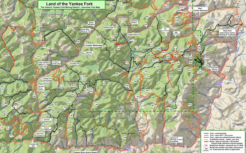 Land of the Yankee Fork State Park