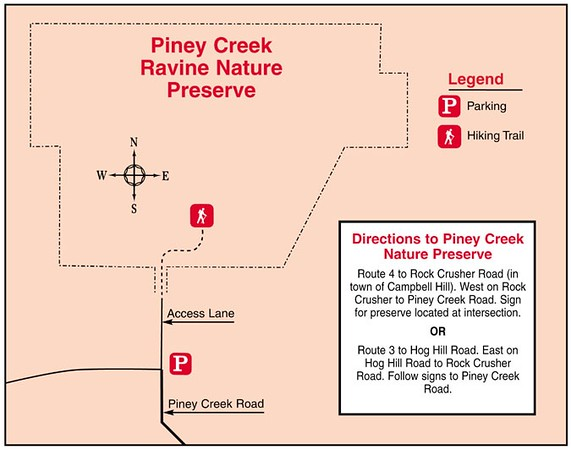 Piney Creek Ravine State Natural Area