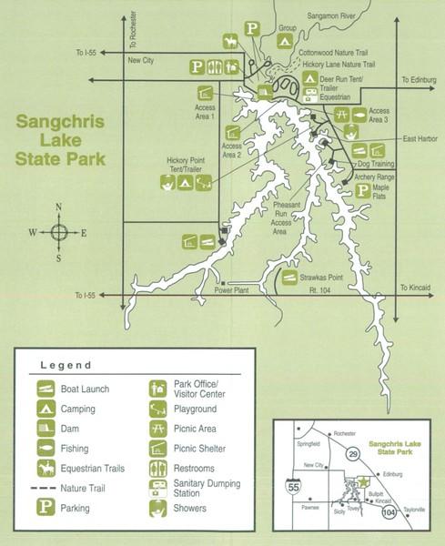Sangchris Lake State Park