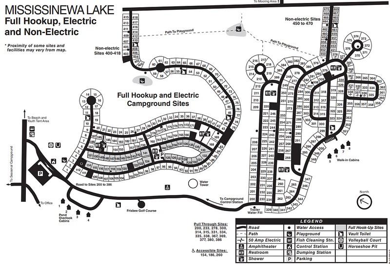 Mississinewa Lake (Campground Map)