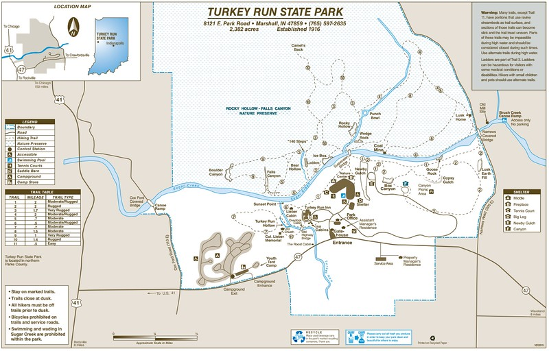 Turkey Run State Park
