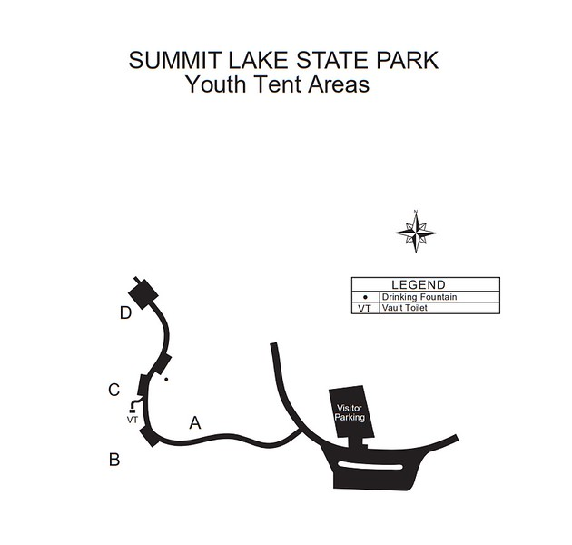 Summit Lake State Park (Youth Tent Areas)