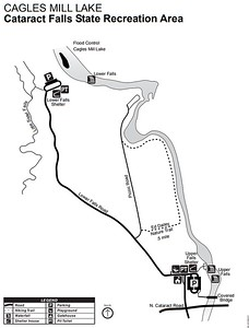 Cagles Mill Lake & Lieber State Recreation Area (Cataract Falls Area)