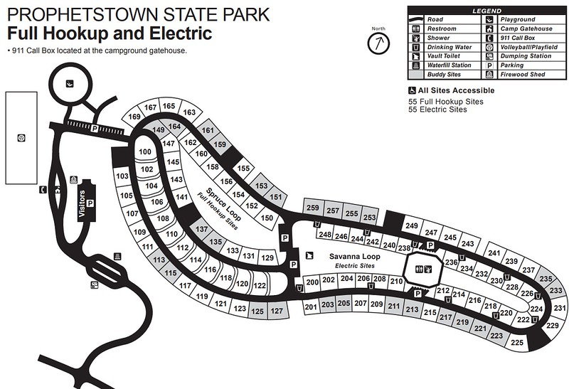 Prophetstown State Park (Campground Map)