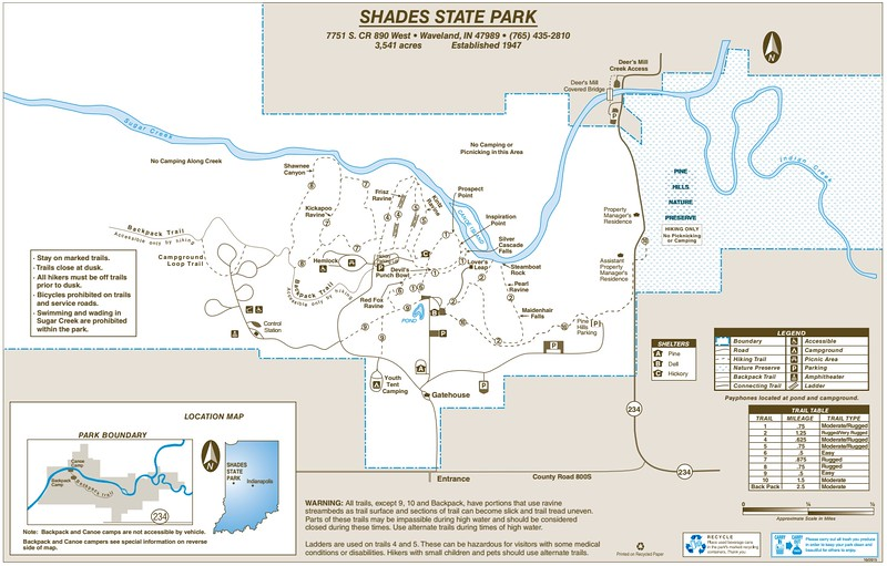 Shades State Park