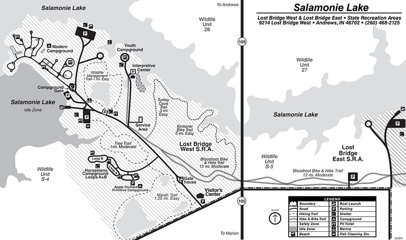 Salamonie Lake (Lost Bridge SRA)
