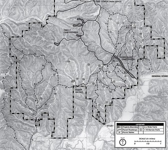 Brown County State Park (Equestrian Trail Map)