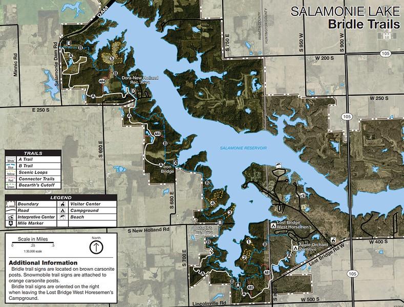 Salamonie Lake (Equestrian Trails)