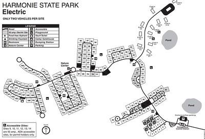 Harmonie State Park (Campground Map)