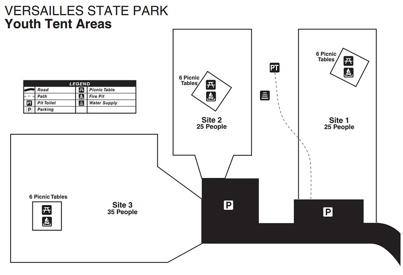 Versailles State Park (Youth Tent Areas)