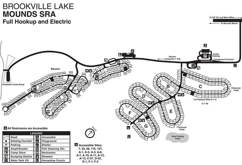 Brookville Lake (Mounds Campground)
