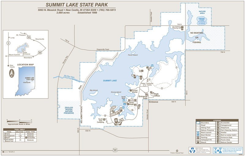 Summit Lake State Park