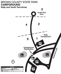 Brown County State Park (Rally Campground & Youth Tent Area)