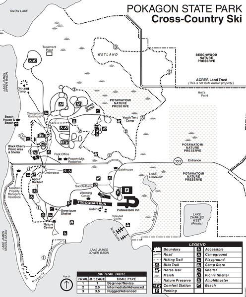 Pokagon State Park (Cross Country Ski Trails)