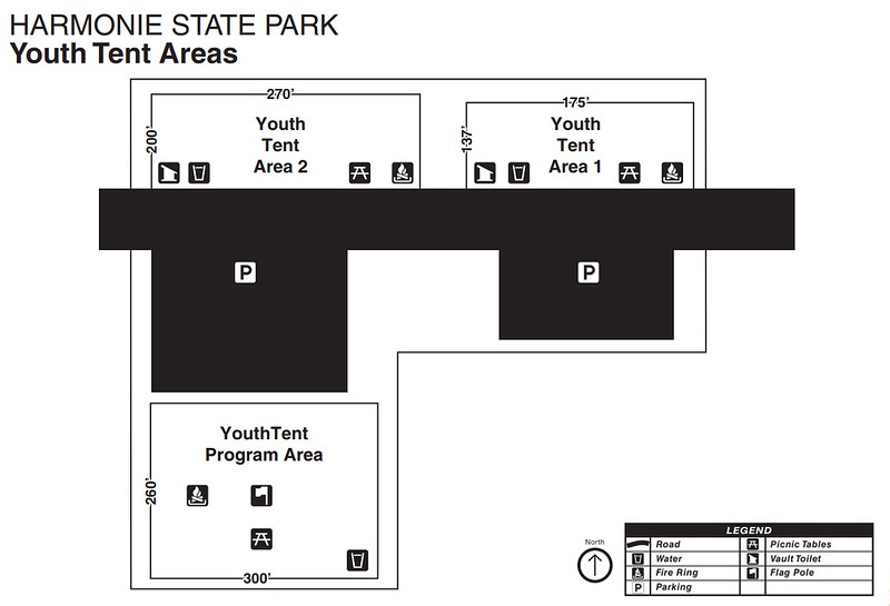 Harmonie State Park (Youth Tent Areas)