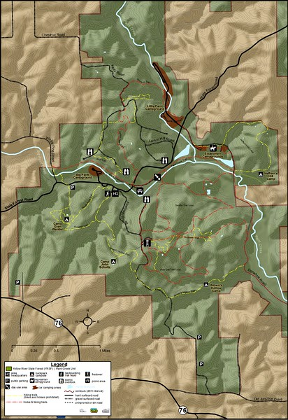 Yellow River State Forest (Paint Creek Unit)