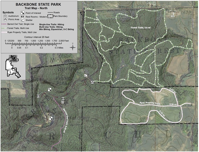 Backbone State Park (north)