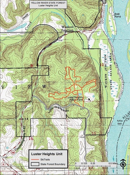 Yellow River State Forest (Luster Heights Unit)
