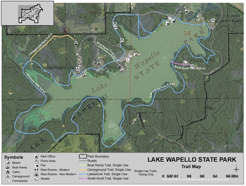 Lake Wapello State Park