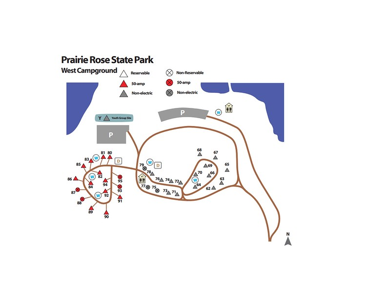 Prairie Rose State Park (West Campground)