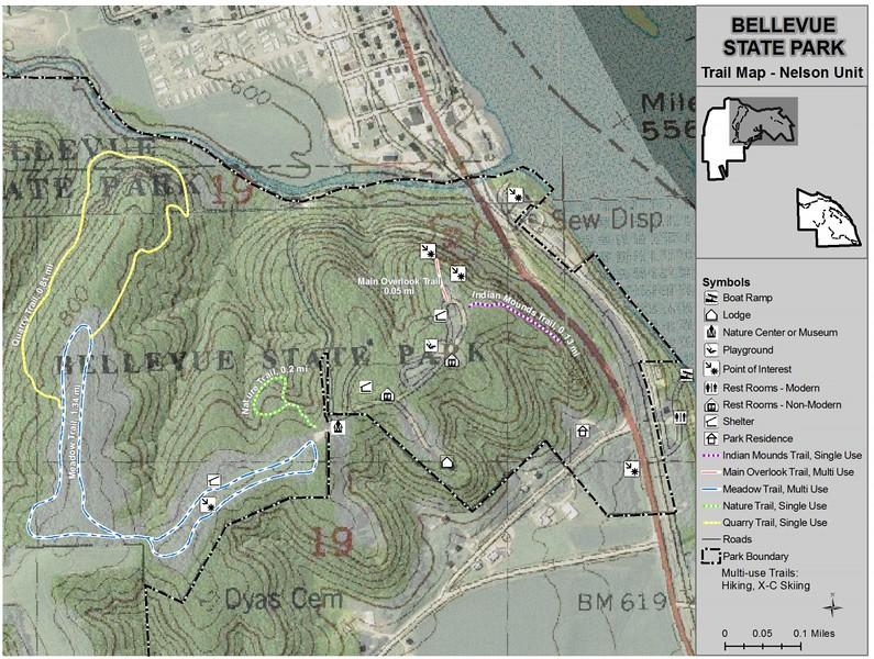 Bellevue State Park -- Nelson Unit