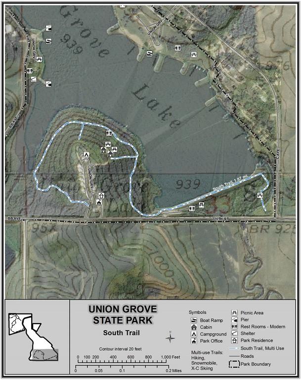 Union Grove State Park (south)