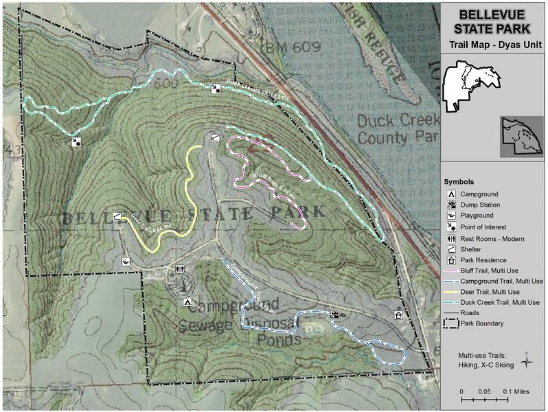 Bellevue State Park -- Dyas Unit