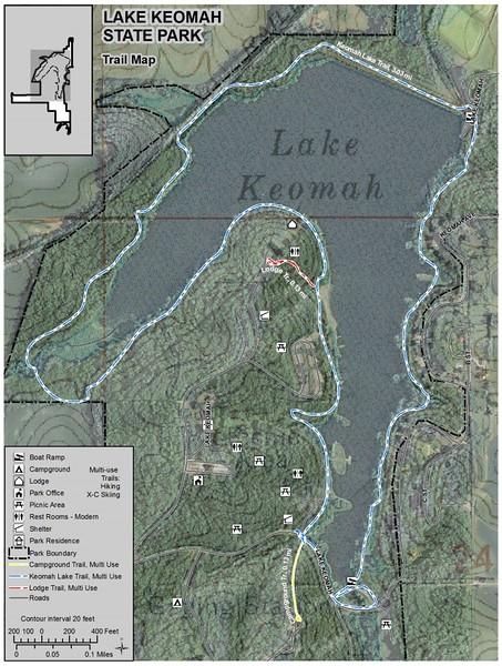 Lake Keomah State Park