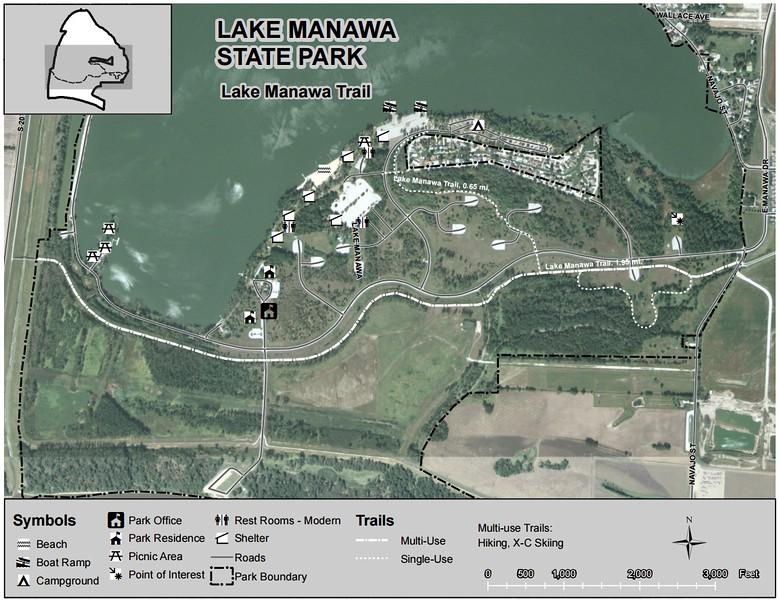 Lake Manawa State Park