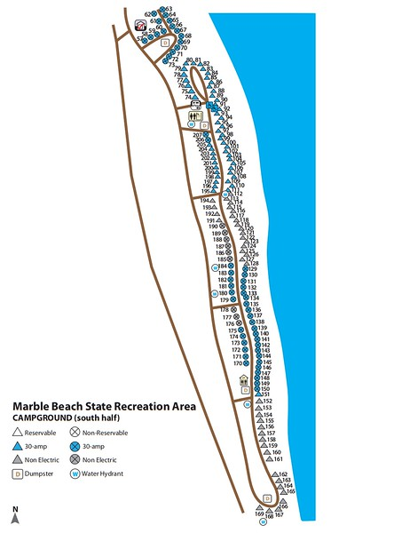 Marble Beach State Recreation Area (south)