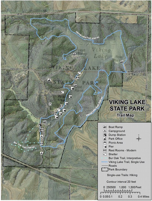 Viking Lake State Park