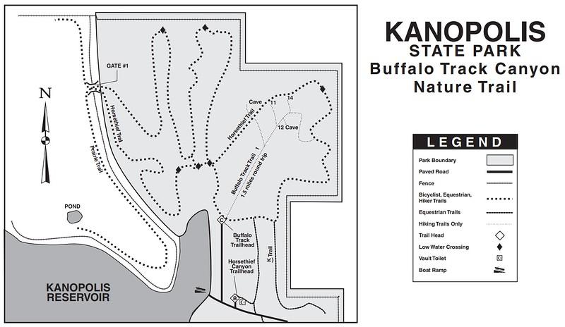 Kanopolis State Park (Buffalo Track Canyon Nature Trail)
