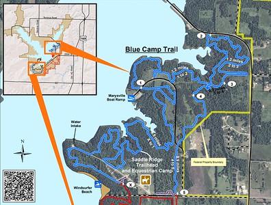 Hillsdale State Park (Blue Camp Trail)