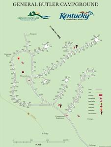 General Butler State Resort Park (Campground Map)