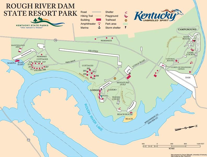 Rough River Dam State Resort Park