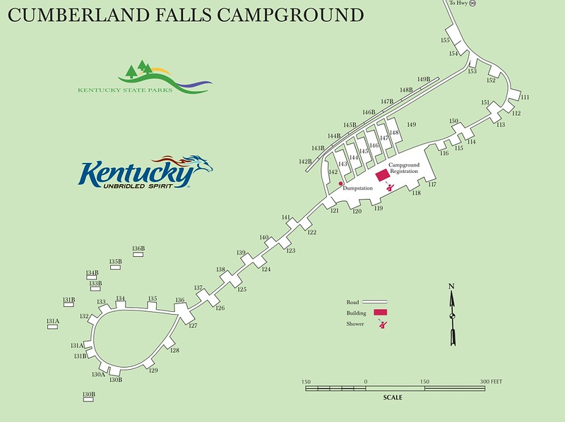 Cumberland Falls State Resort Park (Campground Map)