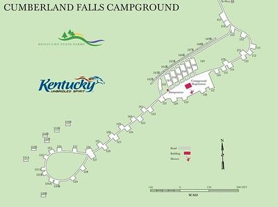 Cumberland Falls State Resort Park (Campground Map)
