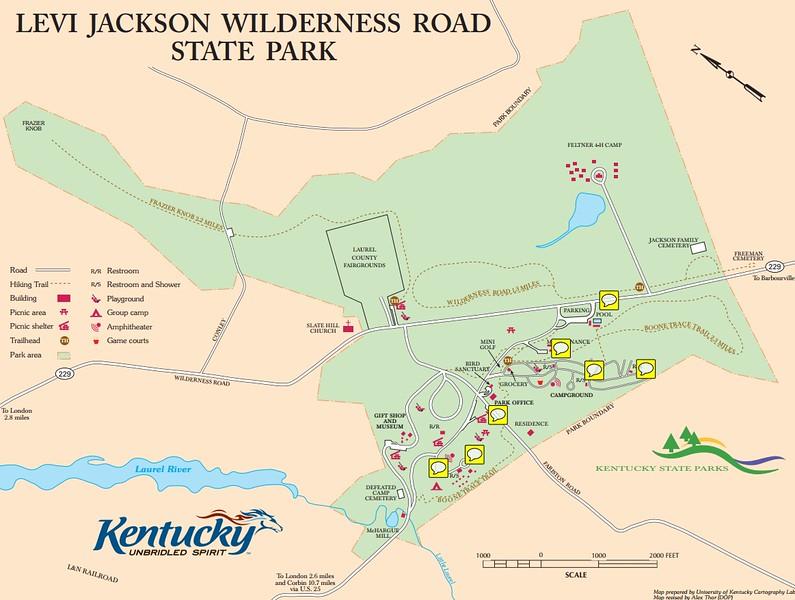 Levi Jackson Wilderness Road State Park
