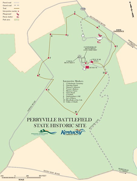 Perryville Battlefield State Historic Site (Core Area Map)