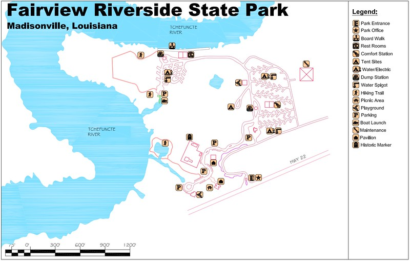 Fairview Riverside State Park