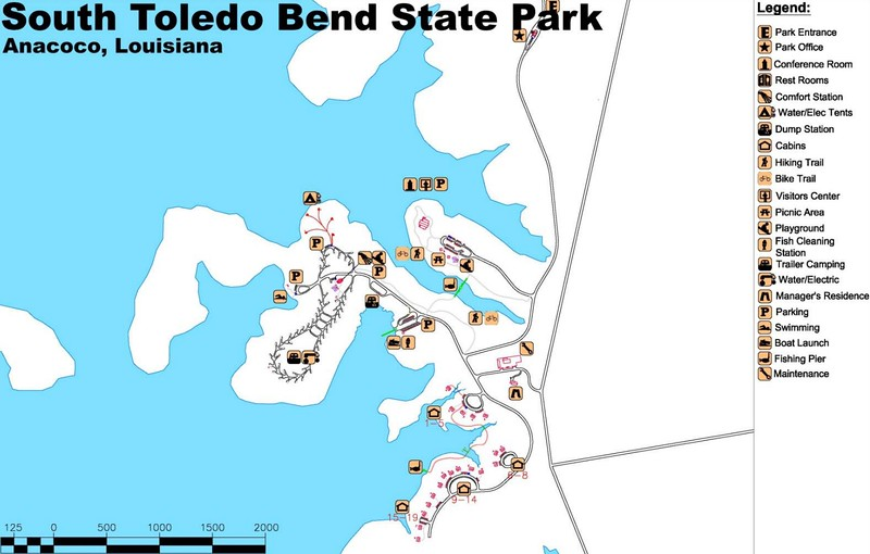 South Toledo Bend State Park