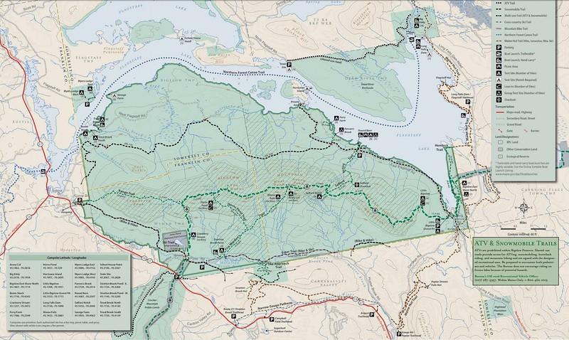 Bigelow Preserve Public Land