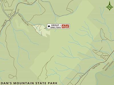 Dan's Mountain State Park