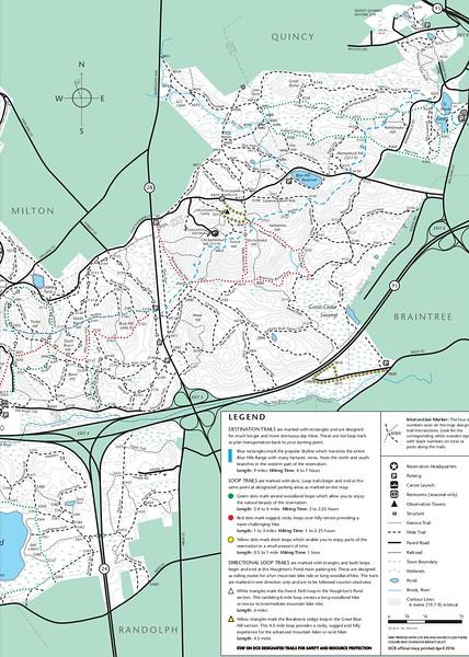 Blue Hills Reservation (East Portion)